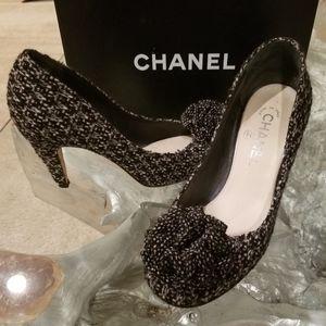 CHANEL Classic Tweed pumps (8)